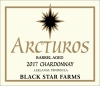 2017 Arcturos Barrel Aged Chardonay white wine label THUMBNAIL