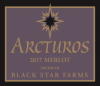 Arcturos Merlot red wine label THUMBNAIL