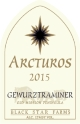 2017 Arcturos Gewurztraminer white wine label