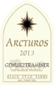 2013 Arcturos Gewurztraminer white wine label