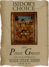 2013 Isidor's Choice Pinot Grigio white wine