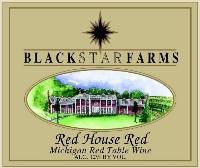 Red House Red red wine label