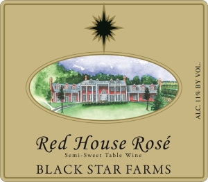 Red House Rose rose wine label_LARGE