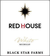 Red House White white wine label LARGE