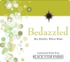 Bedazzled sparkling wine label
