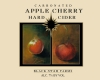 Hard Apple Cherry Cider fruit wine label