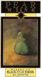 Pear Wine fruit wine label THUMBNAIL