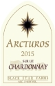 2015 Arcturos Sur Lie Chardonnay white wine label