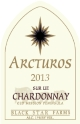 2013 Arcturos Sur Lie Chardonnay white wine label