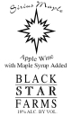 Sirius Maple dessert wine label THUMBNAIL