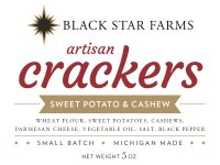 Sweet Potato Crackers