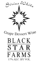 Sirius White dessert wine label_THUMBNAIL