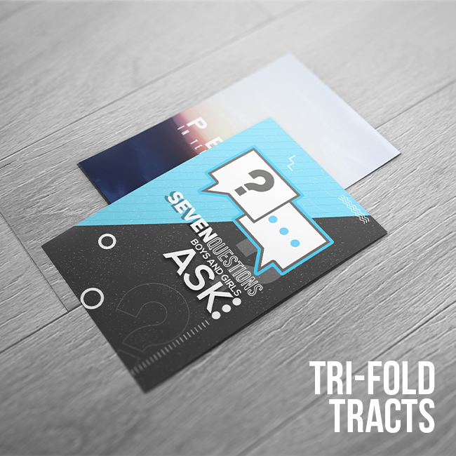 Tri-fold Tracts