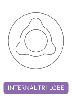 Internal Tri-Lobe