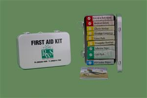 10 Unit Metal First Aid Kit MAIN