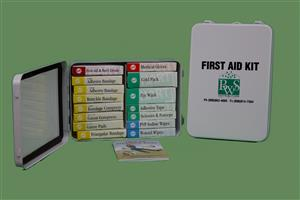 16 Unit Metal First Aid Kit MAIN
