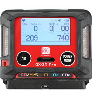 GX-3R Pro Portable Gas Monitor (O2/CO2) MAIN