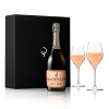 NV Billecart Salmon Brut Rose Champagne Gift Set