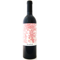 6 pack of 2014 McGah Cabernet Sauvignon Scarlett Rutherford