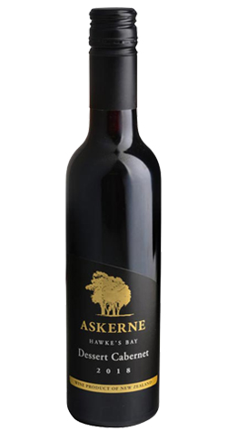 Askerne - Dessert Cabernet, Hawke's Bay - 2018 (375ml) :: South Africa & New Zealand Wine Specialists LARGE