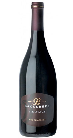 Backsberg - Premium Pinotage, Coastal - 2014 (750ml) :: South African Wine Specialists