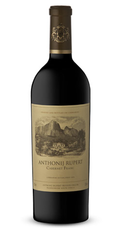 Anthonij Rupert - Cabernet franc, Western Cape - 2009 (750ml) :: South African Wine Specialists_MAIN