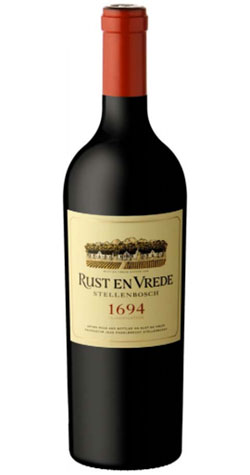 Rust en Vrede - 1694 Classification Red, Stellenbosch - 2009 (750ml) :: South African Wine Specialists