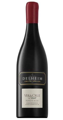 Delheim - Estate 'Vera Cruz' Pinotage, Stellenbosch - 2016 (750ml) :: Cape Ardor - South African Wine Specialists_MAIN