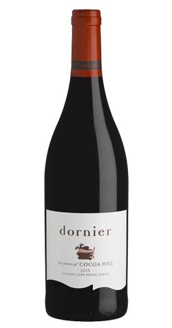 Dornier - Cocoa Hill Red, Western Cape - 2015 :: South African Wine Specialists LARGE