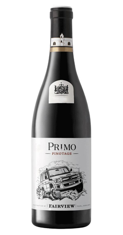 Fairview - 'Primo' Pinotage, Paarl - 2017 :: Cape Ardor - South African Wine Specialists LARGE