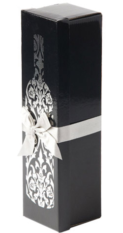 Silver Wine Gift Box :: South African Wine Specialists