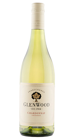 GlenWood - Unoaked Chardonnay, Franschhoek - 2019 :: South African Wine Specialists LARGE