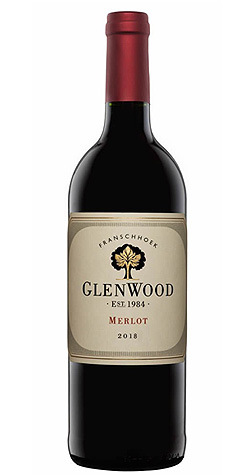 GlenWood - Merlot, Franschhoek - 2018 :: Cape Ardor - South African Wine Specialists LARGE
