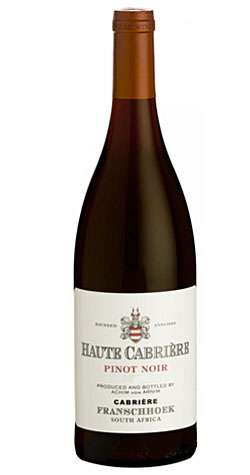 Haute Cabriere - Pinot Noir, Franschhoek - 2012 (750ml) :: South African Wine Specialists