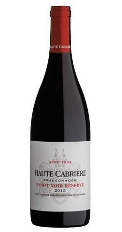 Haute Cabriere - Pinot Noir, Franschhoek - 2015 (750ml) :: South African Wine Specialists LARGE