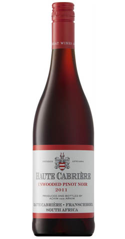 Haute Cabriere - Pinot Noir (Unwooded), Franschooek - 2016 (750ml) :: South African Wine Specialists