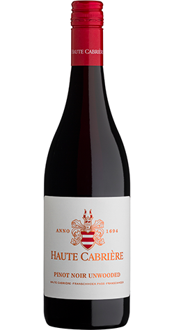 Haute Cabriere - Pinot Noir (Unwooded), Franschooek - 2018 (750ml) :: South African Wine Specialists MAIN