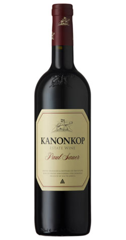 Kanonkop - Paul Sauer, Stellenbosch - 2012 (750ml) :: Cape Ardor - South African Wine Specialists