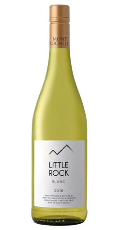 Mont Rochelle - Little Rock Blanc, Franschhoek - 2016 (750ml) :: South African Wine Specialists MAIN