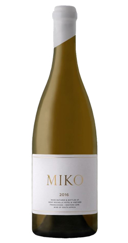 Mont Rochelle - Miko Chardonnay, Franschhoek - 2016 (750ml) :: South African Wine Specialists MAIN