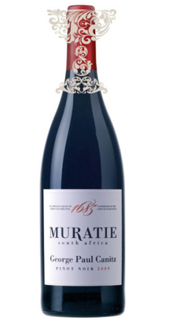 Muratie - 'George Paul Canitz' Pinot Noir, Stellenbosch - 2015 (750ml) :: Cape Ardor - South African Wine Specialists