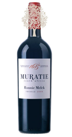 Muratie - Ronnie Melck Shiraz, Western Cape - 2012 :: South African Wine Specialists