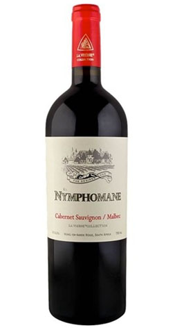 La Vierge - Nymphomane Red Blend, Hemel-en-Aarde - 2014 :: South African Wine Specialists MAIN