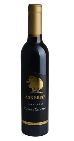 Askerne - Dessert Cabernet, Hawke's Bay - 2018 (375ml) :: South Africa & New Zealand Wine Specialists