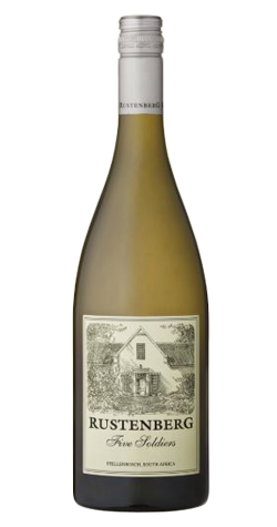 Rustenberg - Five Soldiers, Chardonnay, Stellenbosch - 2015 (750ml) :: South African Wine Specialists MAIN