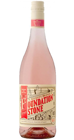 Rickety Bridge - Foundation Stone Rose, Franschhoek - 2018 (750ml) :: Cape Ardor - South African Wine Specialists MAIN