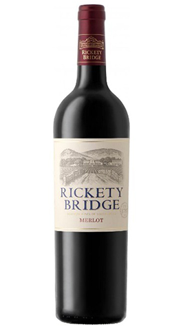 Rickety Bridge - Merlot, Coastal Region - 2017 :: Cape Ardor - South African Wine Specialists