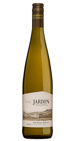 Jardin - 'Real McCoy' Riesling, Stellenbosch – 2015 (750ml) :: South African Wine Specialists