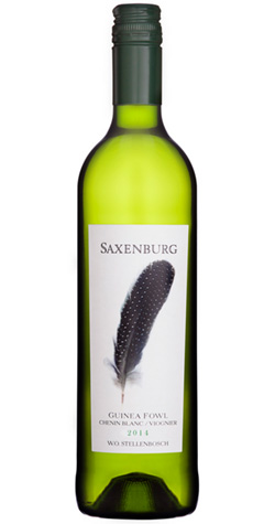Saxenburg - Guinea Fowl - White, Stellenbosch - 2014 (750ml) :: South African Wine Specialists