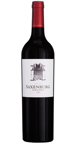 Saxenburg Collection - Saxenburg Shiraz Select, Stellenbosch - 2007 (750ml) :: South African Wine Specialists